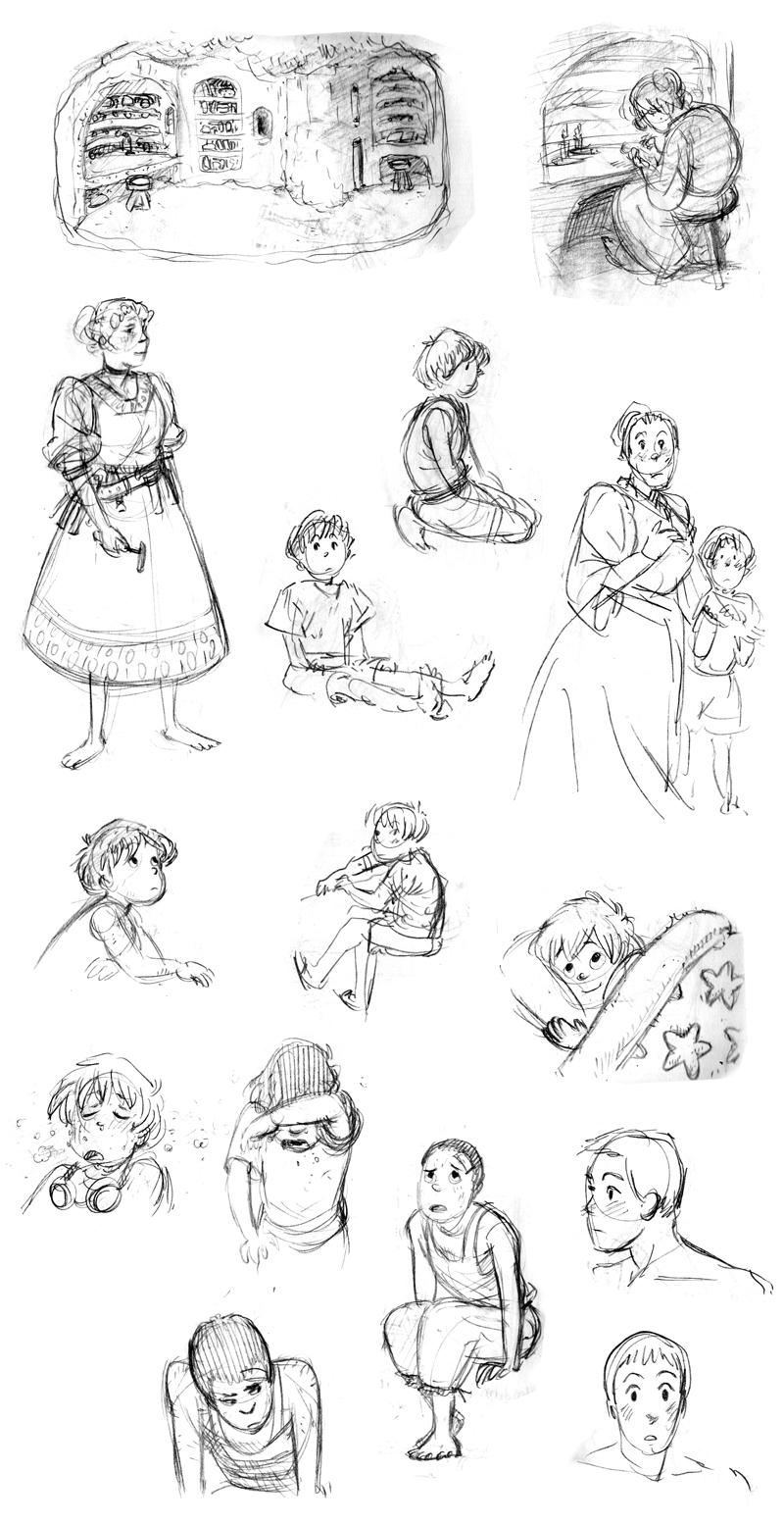 Myst Drawings